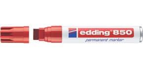 Permanentmarker 850 5-15mm rot EDDING 850-002 Keilspitze nachfüllbar Produktbild