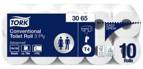 Toilettpapier 3-lag.60RL weiß TORK 3065 Sys. T4 Produktbild