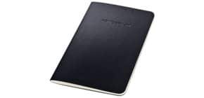 Notizheft ca.A6 liniert schwarz CONCEPTUM CO865 Softcover Produktbild