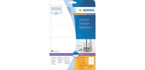 Ordneretiketten 61x192mm weiß HERMA 5095 25 Blatt 100 Stück Produktbild