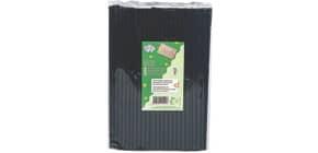 Trinkhalm BIO PLA 150ST schwarz DECOR SERVICE D25144 210mm x6mm Produktbild