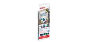 Porzellanmalstift Brushpen 6St EDDING 4200-6099 Cool Produktbild