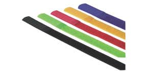 Kabelbinder 5 Stück sortiert MEDIA RANGE MRCS302 zum Kletten Produktbild