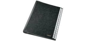 Pultordner 1-31 schwarz ESSELTE 1114119 32 Fächer Pappe Produktbild