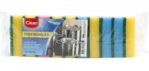 Schwamm Küche 6ST CLEAN 60605 8,5x5cm Produktbild