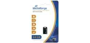 USB Stick mini 64GB MEDIA RANGE MR923 2.0 Produktbild