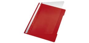 Schnellhefter A4 rot LEITZ 41910025 Plastik Produktbild
