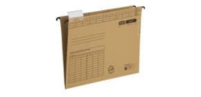 Hängeaktenmappe vertic ULTIMATE braun ELBA 100555356 85449 m.2 Einschlagklappe Produktbild