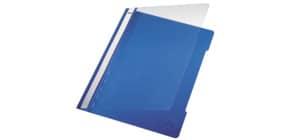 Schnellhefter A4 blau LEITZ 41910035 Plastik Produktbild