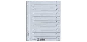 Trennblatt A4 grau LEITZ 1650-00-85 100 Stück ungeöst Produktbild