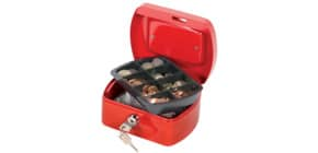 Geldkassette Gr.1 rot Q-CONNECT KF04247 Produktbild