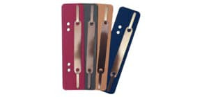 Heftstreifen RC 34x150mm 200ST sortiert Q-CONNECT 4052005013 Metalldeckleiste Produktbild