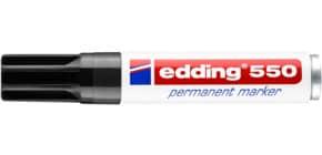 Permanentmarker 550 3-4mm schwarz EDDING 550-001 Rundspitze nachfüllbar Produktbild