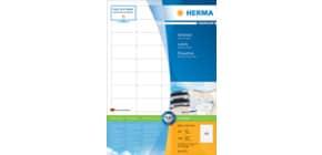 Universaletiketten 48,3x25,4 weiß HERMA 4272 Produktbild