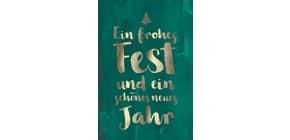 D.T.Weihnachtskarten 22-1409 Schrift Produktbild