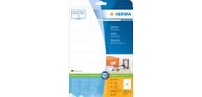 Universaletiketten 70x36 weiß HERMA 4360 A4, 25 Blatt Produktbild