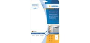 Folienetiketten 210x297 mm weiß HERMA 4866 wasserfest 10 St. permanent Produktbild