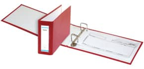 Bankordner 25x14cm rot DONAU 3707001-04 Rü-Schild Produktbild