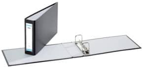 Bankordner 25x14cm schwarz DONAU 3707001-01 Rü-Schild Produktbild