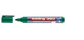 Boardmarker 1,5 -3 mm grün EDDING 4-360004 cap off Produktbild