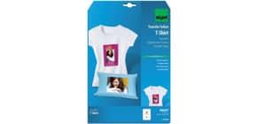 Bügelfolie Inkjet A4 110my, 3 Blatt SIGEL IP650 für helle Textilien Produktbild