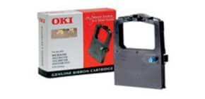 Farbband  schwarz OKI 09002303   Nylon Produktbild