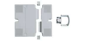 Erweiterungsplatten 2St grau NOVUS 795+0902+000 Produktbild