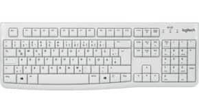 Tastatur Keyboard K120 USB weiß LOGITECH 920-003626 Produktbild