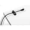 Kabel-Clip 2ST graphit DURABLE 5039 37 CAVOLINE Produktbild Anwendungsdarstellung S