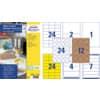 Universaletiketten Office&Home sortiert AVERY ZWECKFOM 49300 Produktbild Einzelbild 2 S
