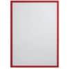 Prospekttasche A4 5ST rot FRANKEN ITSA4M/501 magnetisch Produktbild