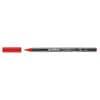Porzellanmalstift Brushpen rot EDDING 4200 002 Produktbild Einzelbild 2 S