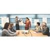 Tischflipchart blanko POST-IT 563R 50.8x58.4cm Produktbild Anwendungsdarstellung 2 S