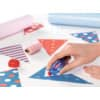 Kleberoller 2 Stück Mini rot/blau TESA 59820-00000-00 6m x 5mm Produktbild Produktabbildung aufbereitet S