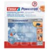 Power Strips Deco Haken transp TESA 58900-13 5ST+8STRIPS Produktbild