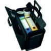 Pilotenkoffer San Remo sw JÜSCHA 45030 Lederimitat Produktbild Anwendungsdarstellung S
