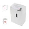 Aktenvernichter Shredstar X13 weiß HSM 1057121 4x37mm Produktbild Detaildarstellung 2 S