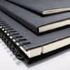 Notizblock ca.A4 kariert schwarz CONCEPTUM CO800 Hardcover Produktbild Stammartikelabbildung S