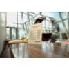 Tischaufsteller A4 hoch glasklar Acryl SIGEL TA210 schräg Produktbild Produktabbildung aufbereitet S