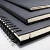 Notizheft ca. A5 kariert schwarz CONCEPTUM CO862 Softcover Produktbild Stammartikelabbildung 3 S