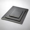 Notizheft ca. A5 kariert schwarz CONCEPTUM CO862 Softcover Produktbild Stammartikelabbildung S