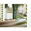 Markierungsband gelb/schwarz TESA 58133-00000-00 50mm 66m Produktbild Anwendungsdarstellung S