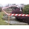 Absperrband rot/weiß TESA 58137-00000-00 80mm 100m Produktbild Anwendungsdarstellung S