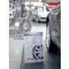 Tischaufsteller A3 hoch glasklar Acryl SIGEL TA213 schräg Produktbild Produktabbildung aufbereitet S