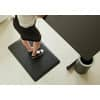Bodenschutzmatte 60x90cm schwarz ERGONOP EN-6090 mit Noppen Produktbild Anwendungsdarstellung S