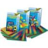 Transparentpapier Regenbogen FOLIA 77080 34x51cm 115g sort Produktbild