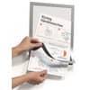 Prospekttasche A4 2ST metallic silber DURABLE 999111439 Produktbild