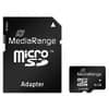 Speicherkarte MicroSDHC 16GB MEDIARANGE MR728/MR958 Class10 Produktbild Einzelbild 1 S