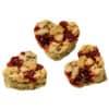 Kekse Müsli-Herzen Cranberry 30x30 g HELLMA 70102202 Produktbild Einzelbild 2 S