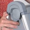 Kundenstopper Design Außenbereich A1 FRANKEN BS1309 591x836mm silber Produktbild Detaildarstellung 3 S